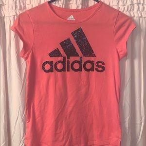Girls adidas shirt. Size Large (14)